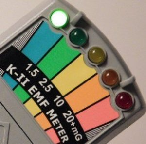 K-II Détecteur EMF avec interrupteur on / off pour chasse aux fantômes