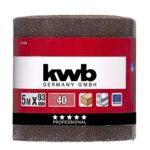 KWB roues abrasif-bois et métal, corindon 8177-04
