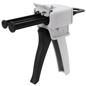 LIYOU AB Pistolet à Colle époxy avec poignée de Pistolet à Colle Mixte 1:1/2:1