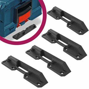 Lot de 4 supports de fixation pour coffre Bosch L-Boxx Sortimo