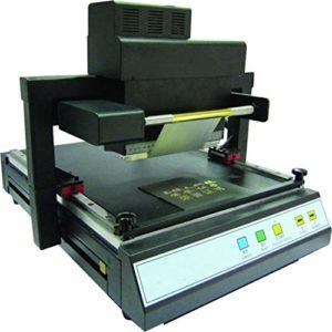 MABELSTAR TJ-219 220V/110V Machine d'estampage numérique à chaud Machine à dorer à plat Imprimeur Machine à estampage Aucune version