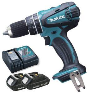 Makita djn161rtj Batterie Grignoteuse 1,6mm, 18V/5,0Ah, en coffret MAKPAC avec 2batteries et 1chargeur