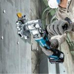 Makita DSC251RT Coupe Fer à béton 18 V Li-ION 5 Ah (1 Batterie), Bleu