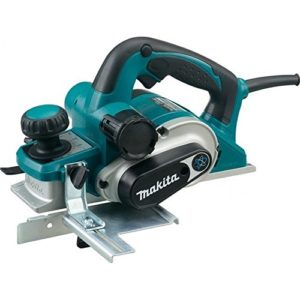 Makita KP0810C – Rabot 1 050 W 12 000 tr/mn 3,4 kg Largeur 82 mm coupe 0 – 4 mm