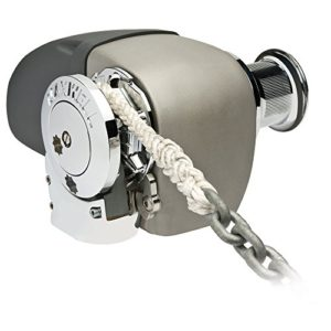 Maxwell HRC 10-8 Rope Chain Horizontal Windlass 5/16″ Chain, 5/8″ Rope 12V, with Capstan