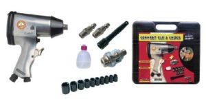 Mecafer 160157 Mallette clé à chocs 1/2″ + Accessoires