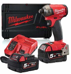 Milwaukee M18FQID-502X 18v 2x5ah Li-ION M18 Fuel Quiet Impact Driver