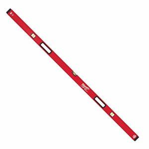 Milwaukee – Niveau tubulaire Redstick Premium 180 cm magnétique 2 poignées – 4932459071
