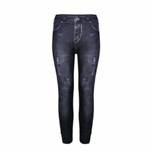 Moonuy_Femme déchiré Pantalon Jeggings Extensible Leggings Slim Mode Skinny Pantalon