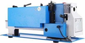 Mophorn Tour à métaux Mini-tour à 2500 tours/minute 550 x 550 x 550 pouces Mini tour à métaux avec tour à métaux à vitesse variable télescopique (7 x 12 pouces 550W)