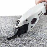 MXBAOHENG Cisaille électrique en tissu avec lame sans fil et ciseaux à main pour couper le textile (1 outil BIT)