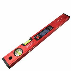 Naliovker Detecteur D'Angle De Rapporteur Numerique Inclinometre De Niveau Electronique 360 Degres Avec Aimants Niveau Angle Testeur De Pente Regle 400Mm