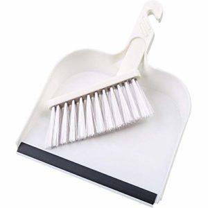 Nettoyer la brosse et balayette Set – Ensemble portable Mini Dustpan brosse Balai Balayer outil pour Bureau Cuisine Ménage Bureau Nettoyage du clavier