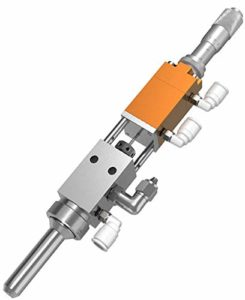 NEWTRY – Vapet de dosage de colle pneumatique réglable – Buse haute fréquence pour liquide à viscosité moyenne et basse