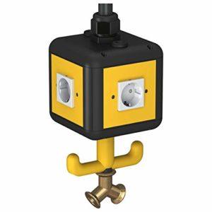 Obo Bettermann approvisionnement Unité VH NB-4L 4SD IP20, l'air, poignée VH4Ensemble de prises CEE 4012195125136