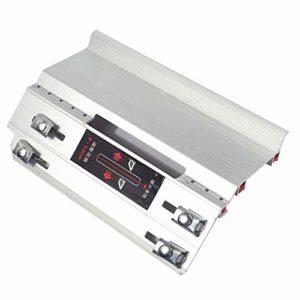Pannow Machine à chanfreiner à angle 45 degrés Outil de coupe de pierre de bureau Guide de machine de coupe d'angle multifonction Accessoires