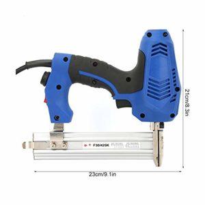 Pistolet à ongles électrique, F30/K425 Pistolet à ongles électrique Cloueurs droits Agrafeuse électrique à bois 220V, plus conviviale et moins exigeante en travail