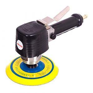 Ponceuse orbitale aléatoire 6 cm avec tampon Velcro 150 mm 10 000 tr/min