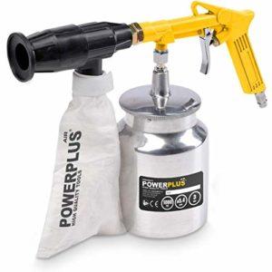 POWERPLUS POWAIR0014 POWAIR0014-Pistola neumática de Arena