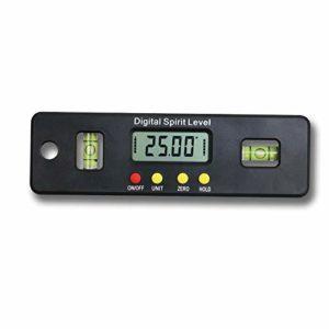 Précision numérique multi-fonction 360 Avec niveau à bulle horizontale Électronique Étrier numérique avec Extra Large Sc (Taille : 150mm)