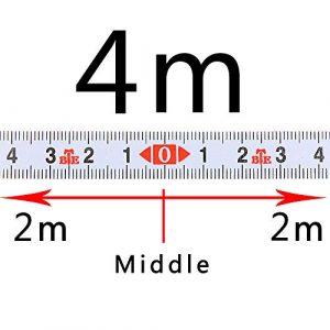 Règle métrique autocollante à onglets pour scie à ruban à mesurer en acier à onglets pour T-Track Router Table Scie à ruban Outil de travail du bois COD, blanc