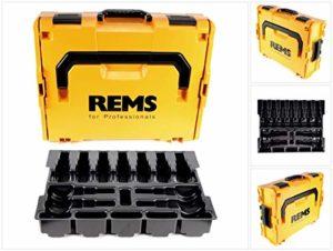 REMS L-BOXX 136 System Coffret à outils + insert pour mini pinces à sertir (578659R)