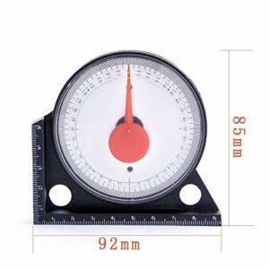 Revêtements Bricklayer Precision pointeur Inclinomètre Électronique Étrier numérique avec Extra Large Sc