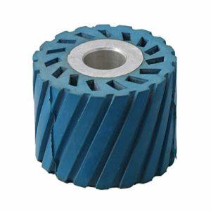 Roue de contact pour meuleuse à courroie ponceuse polie machine