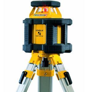 Set laser rotatif LAR 250 Allround Stabila 17203 Gamme(s) de mesure Ø 350 m Précision d'affichage ± 0,1 mm/m Puissance