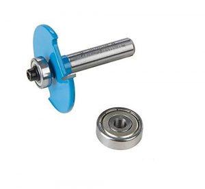 Silverline 249157 Fraise à rainurer pour lamelles de 8 mm n° 10 et 20, Bleu