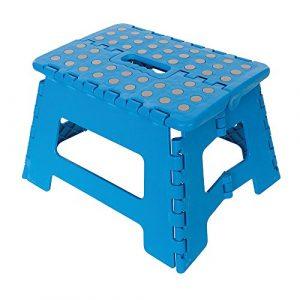 Silverline 968731 Marchepied pliant, Bleu