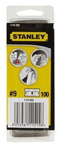 Stanley 1-11-515 Lame de gratte-vitre métal Boîte 100 Lames