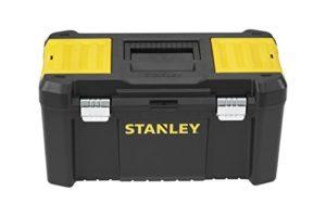 Stanley STST1-75521 Boite à outils essential m 19″, Noir, Jaune