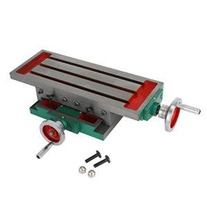 SucceBuy 450 x 170 mm Table Milling Machine Multifonctionnel Table de Travail de Fraisage Table pour Perçage et Fraisage Table de Milling Working