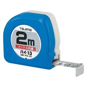 Tajima NHC20MY Hi Conve Mètre à ruban 2 m/13 mm, Noir