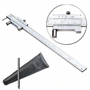 Ting WU 0.05mm précise Parallel Line numérique Vernier Caliper 0-200mm Mesure échelle Règle W/Case Travail du Bois Outils d'usinage du Bois