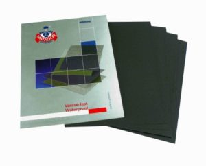 Wet and Dry Sandpaper Mixed Grits – 3000 / 5000 / 7000 – 6 sheets 2 per grit 230 x 280mm Waterproof Paper Highest Quality STARCKE MATADOR by STARCKE ERSTA Abrasives