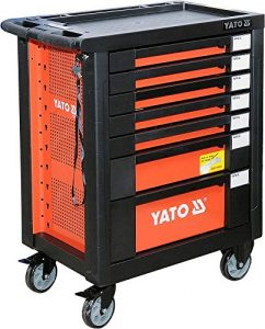 Yato de 55290–Roller Cabinet with Tools 211pcs