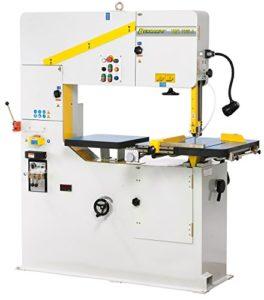 04-1809Bernardo lbandsägen vertical + table vorschub VMS 1000A Scie à ruban métal