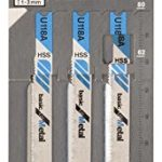 Bosch 2608631511 Lame de scie sauteuse U 118 A HSS 3 pièces
