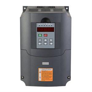 Chrisun Variateur De Fréquence 4,0kw VFD Convertisseur De Fréquence Variable Frequency Drive VFD Inverter 220V (4.0KW)
