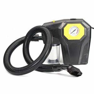 Compresor De Aire De La Bomba De Neumático W / LED Lihght Automatique Compresseur D'air 150psi 4 En 1 Moto Vélo Gonfleur Pompe Para Baloncesto De SUV Para Coche ( Color : Black , Size : One size )