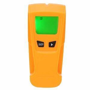 Détecteur de métaux 3 en 1 avec écran LCD, multifonction, détecteur de câbles AC muraux, arrêt automatique, affichage audio et visuel