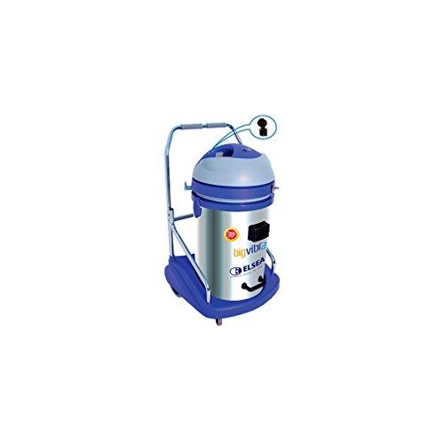 Elsea – Aspirateur poussière 77 Litres INOX – Pneumatique/électrique autonettoyant – 230V – 2300W – BIG VIBRA 250B – VIDI250EA