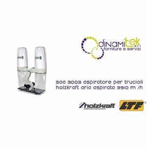 Holzkraft aspirateur pour copeaux modèle saa 3003–Air prélevée 3910m³/h–hol-5922303