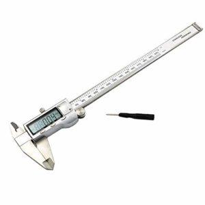 HYY-AA Affichage numérique électronique Affichage numérique Vernier Caliper Vernier Caliper Caliper 200mm (Taille: 0-200mm)