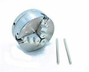 Mandrin à trois mâchoires, diamètre de serrage 1.8 ~ 56mm / 12 ~ 65mm, Z011 pour mini tour