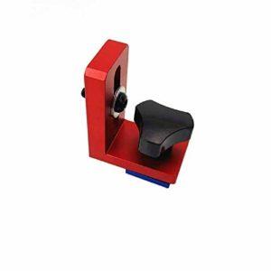meixiang 60/80 /100Cm Hauteur Piste Oblique, T-Track Arrêt De Glissement, T-Slot Aluminium Profil Table De Menuiserie Type 30