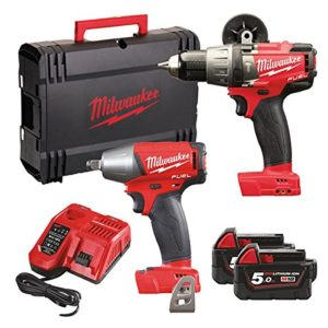 Milwaukee M18 fpp2b-502 x | Perceuse visseuse percussion + visseuse choc