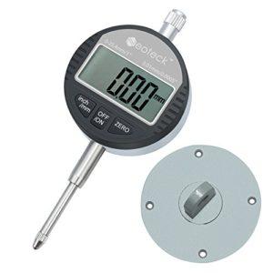 Neoteck DTI Comparateur Numérique 0.01/.0005» Indicateur de Sonde Numérique Gamme 0-25.4mm/1» Indicateur Electronique Jauge à Cadran Numérique